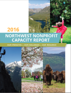 Cover of the 2016 Northwest Nonprofit Capacity Report